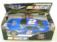 NASCAR Pez Candy Dispenser race car by Pez candy. $9.75. Pull back car candy dispenser. Pez candy. Nascar #76. Pez candy dispenser Pull and Go Action Car, 3 rolls of candy car #76