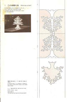 O QUE É MEU É NOSSO: Orgami - Cartões Arquitetônicos (Architecture Cards)- Árvore (tree) - Masahiro Chatani e Keiko Nakazawa