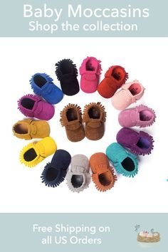 Tiny, flexible infant footwear that come in punchy colors, patterns and styles and add a perfect little exclamation point to whatever else your baby is wearing. Free shipping on all US orders.