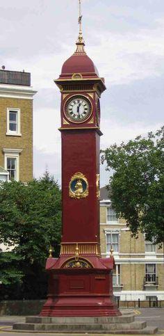 Highbury Clock, London