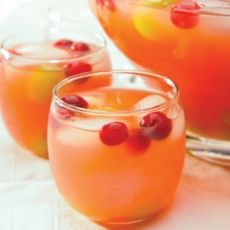 Pink Green Tea Punch, a recipe from ATCO Blue Flame Kitchen's Holiday Collection 2011 cookbook.
