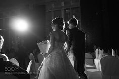 #nancyavon from www.bit.ly/jomfacial Sharing a light moment with your love dear! Bride and Groom by hariboflourish