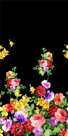 Blisse Design Studio: PAINTING_Flower Design_Digital Print_2