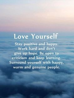 10 Positive Quotes: Why First Love Yourself Should Awesome