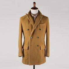 LBM 1911 Casentino wool overcoat (at nomanwalksalone.com)