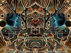 12 x 16 passe-partout Eco Art Print Alaya par par IshkaNexus