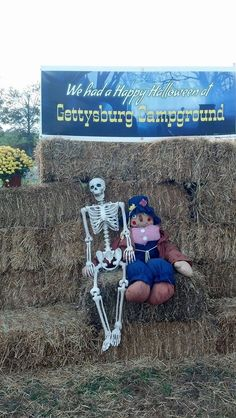 10 Spooky Halloween Celebrations At These Pennsylvania Campgrounds Halloween Celebration, Gettysburg, Spooky Halloween, Pennsylvania, Mount Rushmore, Celebrations, Camping, Fun, Travel