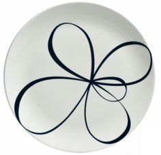A plate a day: Blue and white