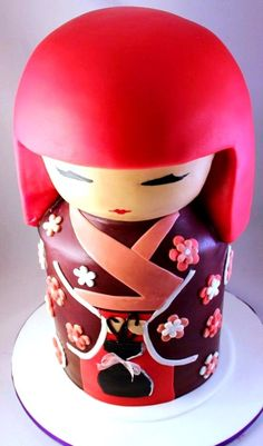 Beautiful Kimmi doll cake for a lucky birthday girl. So many designs to choose from!