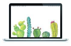 Cactus Desktop Wallpaper | Tell Me Tuesday Blog