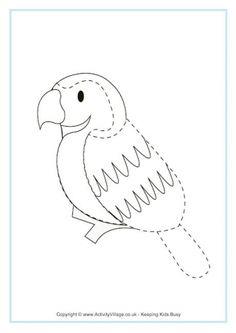 Bluebird Tracing Page