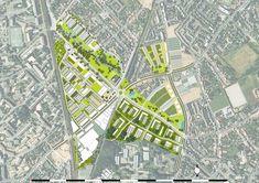 Bottière Chênaie Eco-district by Atelier des Paysages Bruel-Delmar « Landezine   Landscape Architecture Works