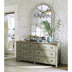 Mirrors on pinterest mirror puertas and diners - Grand magasin maison du monde ...