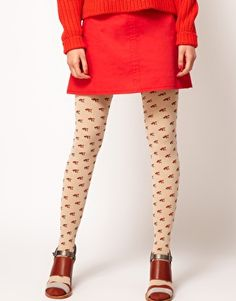 Buy Eley Kishimoto Fox Tights at ASOS. With free delivery and return options (Ts&Cs apply), online shopping has never been so easy. Get the latest trends with ASOS now. Latest Fashion Clothes, Latest Fashion Trends, Fantastic Fox, Sock Leggings, Geek Chic, Playing Dress Up, Dress Me Up, My Wardrobe, Asos