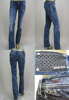 Diesel jeans rakuten | DIESEL (Diesel) LOWKY LADY'S DENIM Straight Supasurimufitto ...