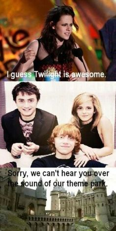 Wat is Twighlight? whatever it is, it sucks and is WAY worse than Harry Potter which is EP!C and AWESOME!!!!!!