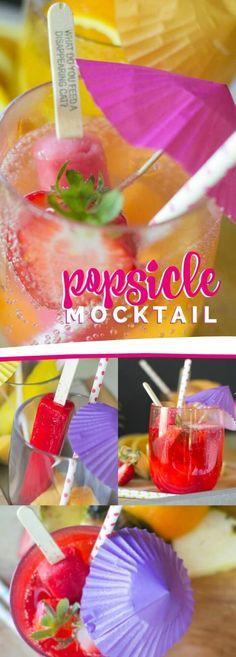 Popsicle Mocktail, Fun Recipe!