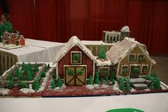 gingerbread house competition 2014 | Sold! Thank you Eastern Bank Charitable Foundation!