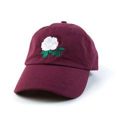 White Rose Dad Hat Embroidered Baseball Cap Adjustable Strap Back Visor Beanie, Sun Visor Hat, Visor Hats, Beanie Hats, Youth Baseball Gloves, Baseball Hats, Indians Baseball, Bad Hair Day, Cotton Beanie