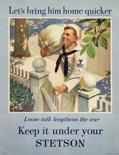 Keep it under your Stetson - WW2