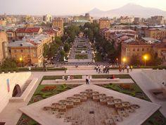 Yerevan, Armenia The capital.