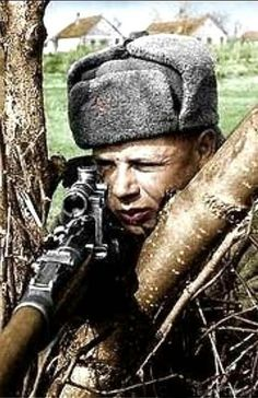 Soviet sniper -