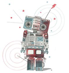 mediarobot by Valezki, via Flickr