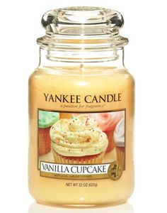 Nothing but my favorite scent of yankee candle candles...Vanilla
