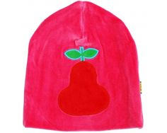 DUNS Organic Cotton Velour Peach on Pink Hat