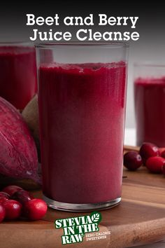 Want a clean start for the new year? Try this delicious Beet and Berry Cleanse recipe. Made with the super nutrition of fresh beet. Healthy Juice Recipes, Healthy Detox, Healthy Juices, Healthy Smoothies, Healthy Drinks, Healthy Snacks, Nutrition Drinks, Drink Recipes, Vegetarian Recipes