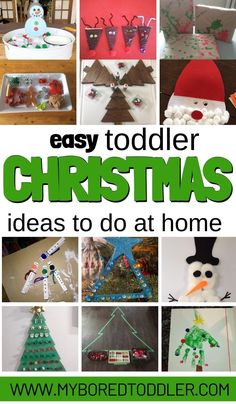 Christmas Activities to do at home with Toddlers (easy!) Christmas Activities For Toddlers, Craft Activities For Kids, Christmas Crafts For Kids, Toddler Activities, Christmas Fun, Activity Ideas, Christmas Cooking, Winter Activities, Christmas Cards