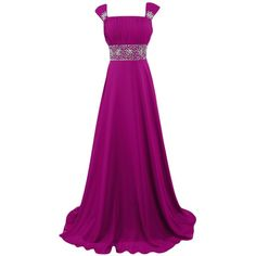 Sunvary Woman Bridesmaid Dresses Prom Gowns Evening Party Dress Long ($140) ❤ liked on Polyvore featuring dresses, holiday dresses, long special occasion dresses, evening dresses, cocktail bridesmaid dresses and special occasion dresses