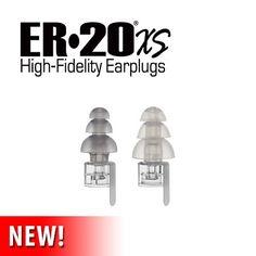 ER•20XS High-Fidelity Earplugs