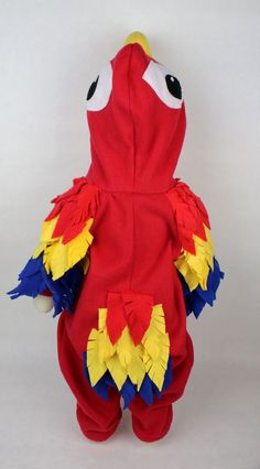 Toddler Fleece Parrot Costume Toddler Bird Costume Toddler Macaw Outfit Child Parrot Costume Fleece Bird Outfit Fleece Macaw Costume & Baby parrot costume | ??????? ?????? ???? ?????? ????? ???? ????? ...