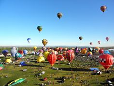 The world's largest hot air balloon festival [PICS]
