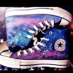 On Sale Galaxy Converse, Converse high top custom,galaxy shoes men shoes, high tops, galaxy Converse All Star, Galaxy Converse, Galaxy Shoes, Converse Sneakers, High Top Sneakers, Cute Converse Shoes, Converse Style, Cool Converse High Tops, Vans Shoes