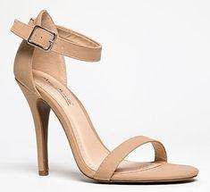 #hot ENZO-01 Sinlge Sole Open Toe High Heel Stiletto Ankle Strap Sandal