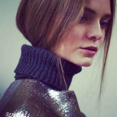 The stunning Nimue backstage @Ports1961 #nyfw