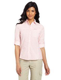 Craghoppers Women's Nosilife Stretch Long Sleeve Check Shirt