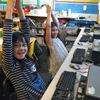 Rocket Ship! Satellite! Launch Pad! Great way to get kids to stop working and listen.