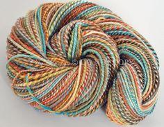 "Western Sky Knits ""Wise Owl"" handspun, homespun, handmade, yarn, wool - pinned by pin4etsy.com"