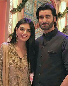 Sarah khan and agha         Ali