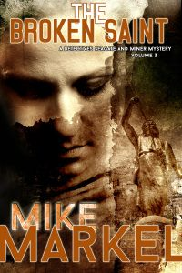 """FREE Detective Mystery in """"The Broken Saint"""" by Mike Markel  The Broken SaintbyMike Markel $2.99 – FREE Sept 30-Oct 2, 2014 Seagate and Miner investigate the murder of Maricel Salizar, a young Filipino exchange student at Central Montana State. The most obvious suspect is the boyfriend, who happens to have gang connections. And then there's Amber, a fellow student who's obviously incensed at Maricel for a sexual indiscretion involving Amber's boyfriend. B"""