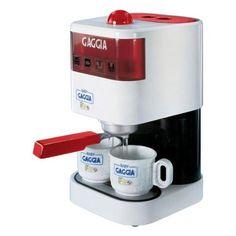 "Pretend Play Toy ""Baby Gaggia"" Working Espresso Machine by Faro, http://www.amazon.com/dp/B001D1L2O8/ref=cm_sw_r_pi_dp_FlLNqb1CSCYW9"