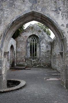 Muckross Abbey, Ireland