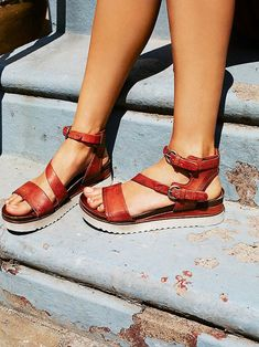 Free People Centuries Distress Sandal