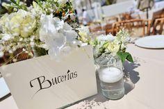 Nombres originales para tus mesas. GS Events Puerto Vallarta