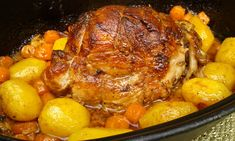 Slovakian Food, Pork Recipes, Cooking Recipes, Chicken Recepies, Multicooker, Food 52, No Cook Meals, Pot Roast, Food To Make