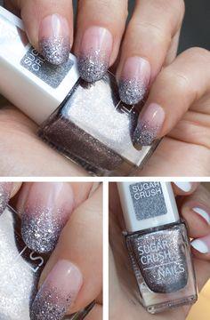 Metal crush manicure
