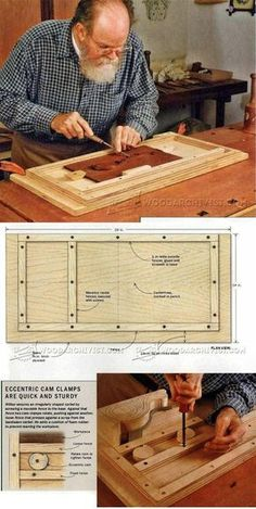 Portable Carving Station - Wood Carving Patterns and Techniques   WoodArchivist.com